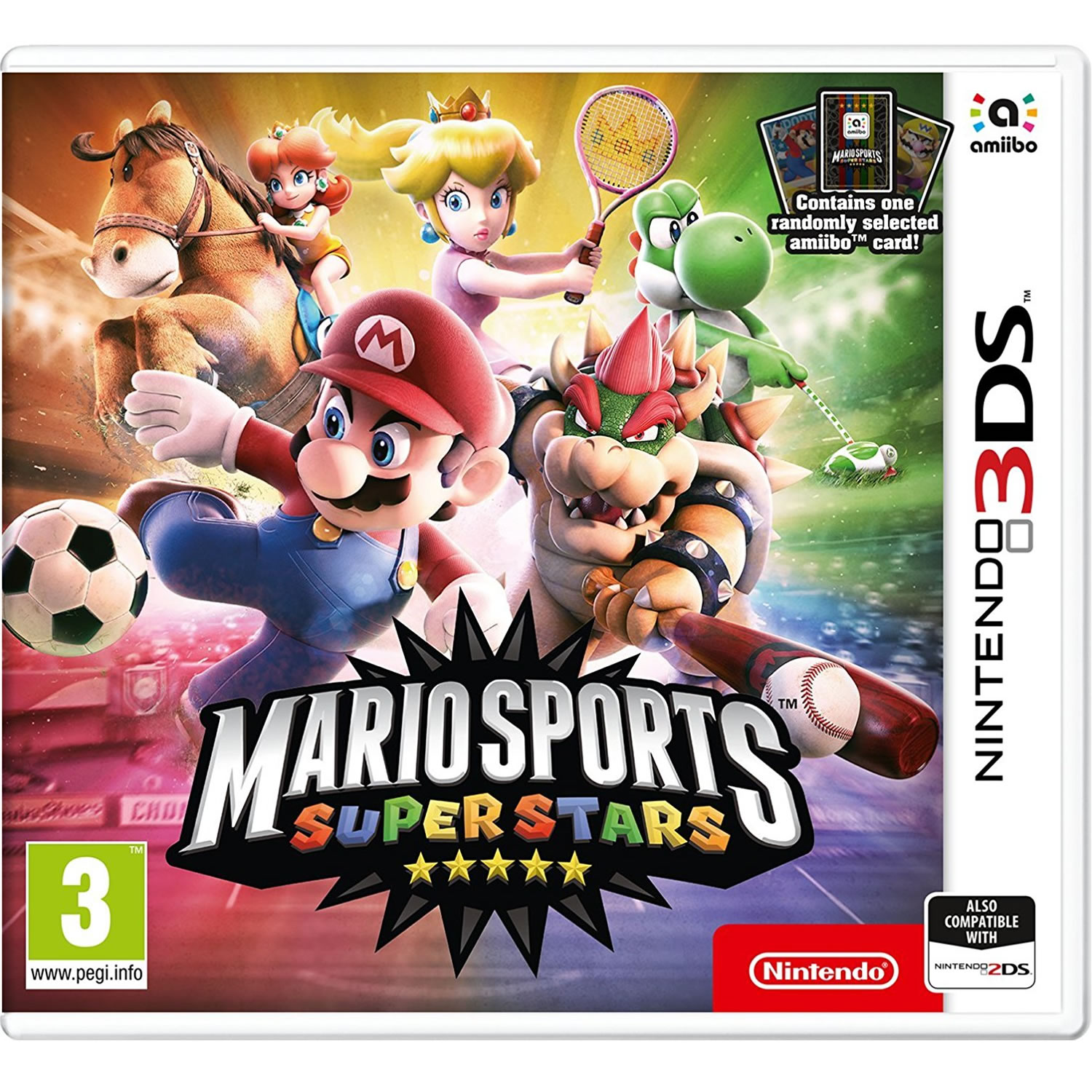 MARIO SPORTS SUPERSTARS + amiibo Card (3DS, 2DS)