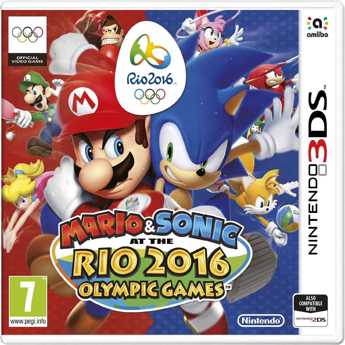 MARIO & SONIC AT THE RIO 2016 OLYMPIC GAMES (3DS, DS)