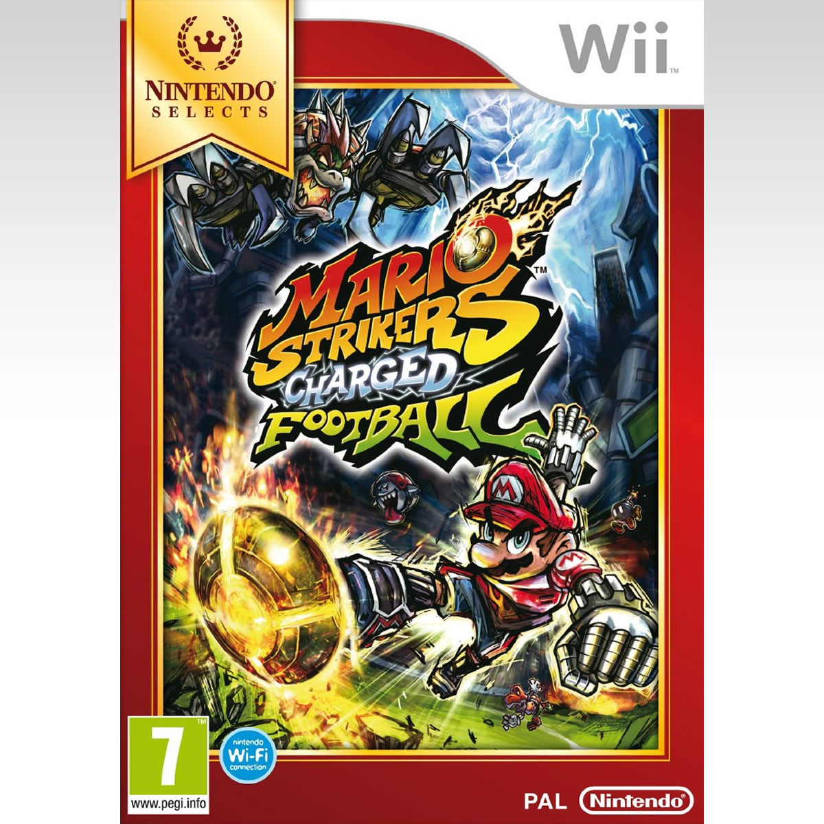 MARIO STRIKERS: CHARGED FOOTBALL - SELECTS (Wii)