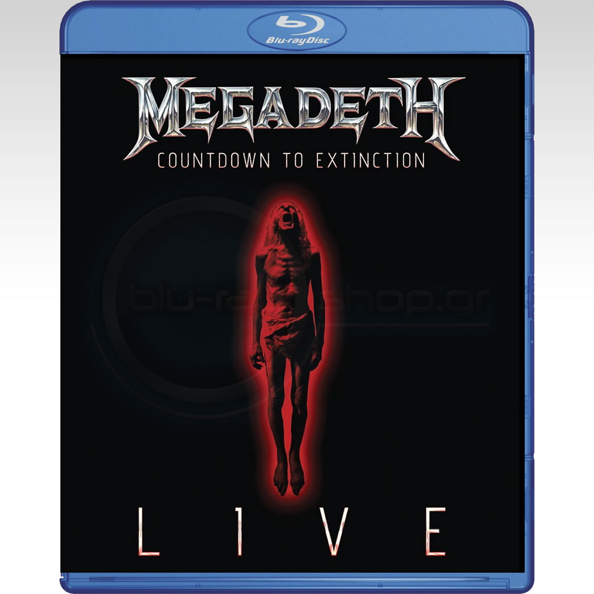 megadeth countdown to extinction live 2 blurays hd