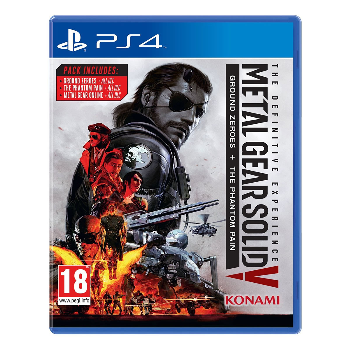 METAL GEAR SOLID V: DEFINITIVE EDITION (PS4)