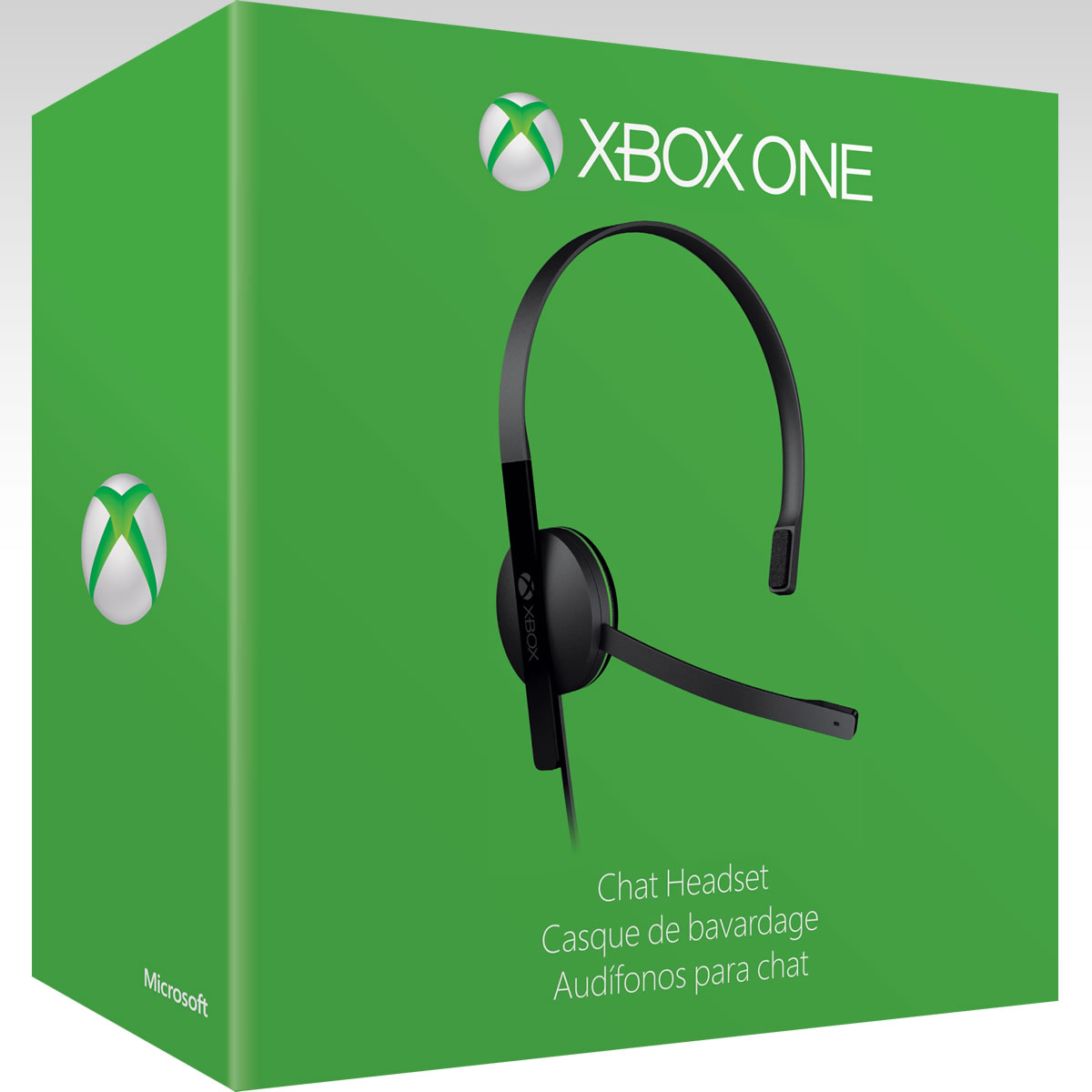 MICROSOFT OFFICIAL XBOX ONE CHAT HEADSET - MICROSOFT ������� XBOX ONE CHAT ��������� (XBOX ONE)