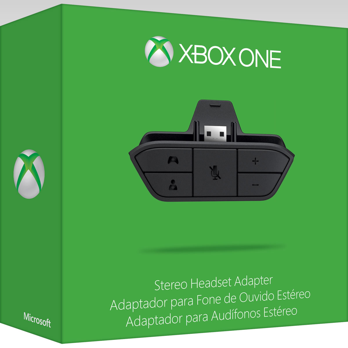 MICROSOFT OFFICIAL XBOX ONE STEREO HEADSET ADAPTER - MICROSOFT �������� XBOX ONE ������������ ������������� ���������� (XBOX ONE)