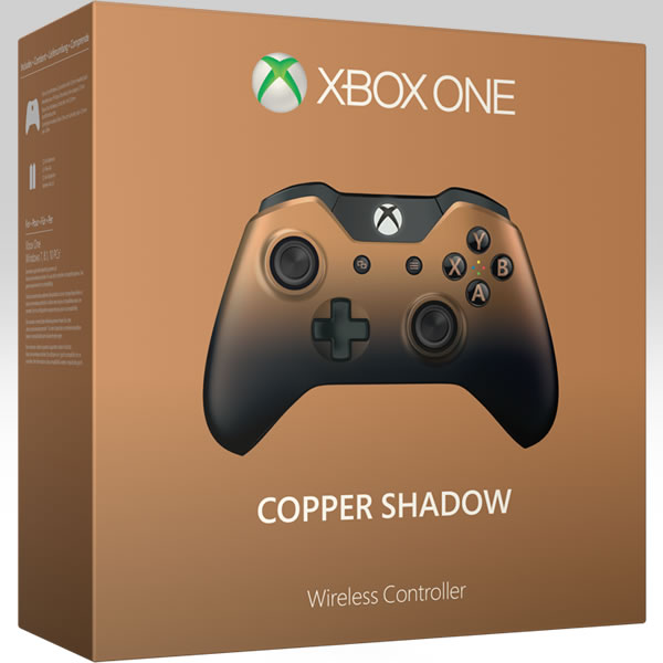 MICROSOFT OFFICIAL XBOX ONE WIRELESS CONTROLLER 3.5-mm Audio Jack Special Edition Copper Shadow GK4-00033 (XBOX ONE)