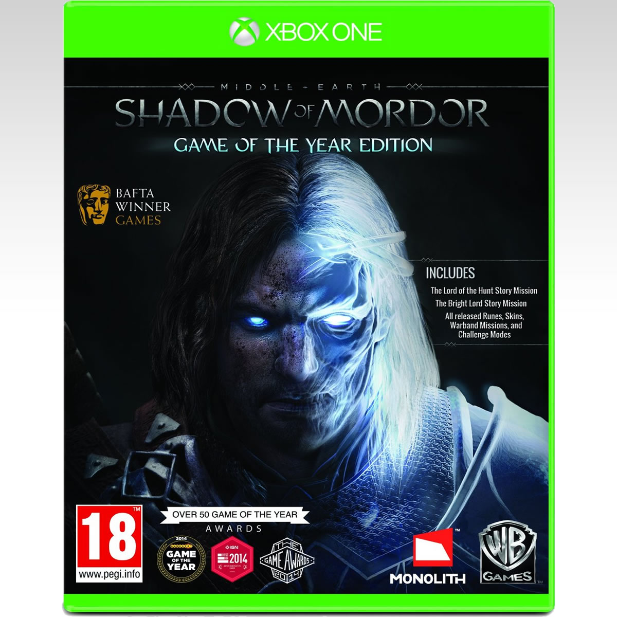 MIDDLE EARTH: SHADOW OR MORDOR - GAME OF THE YEAR EDITION (XBOX ONE)