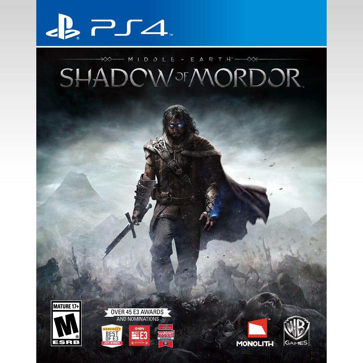 MIDDLE EARTH: SHADOW OR MORDOR (PS4)
