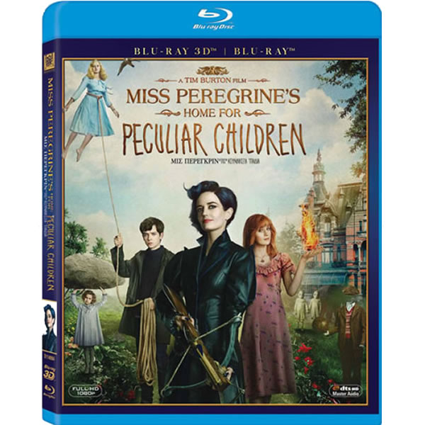 MISS PEREGRINE'S HOME FOR PECULIAR CHILDREN 3D (BLU-RAY 3D + BLU-RAY)