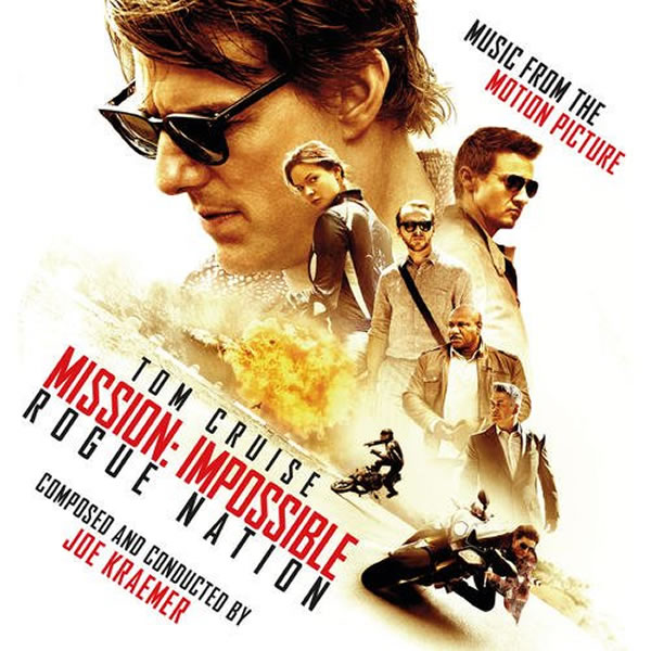 MISSION: IMPOSSIBLE ROGUE NATION - THE ORIGINAL MOTION PICTURE SOUNDTRACK (AUDIO CD)