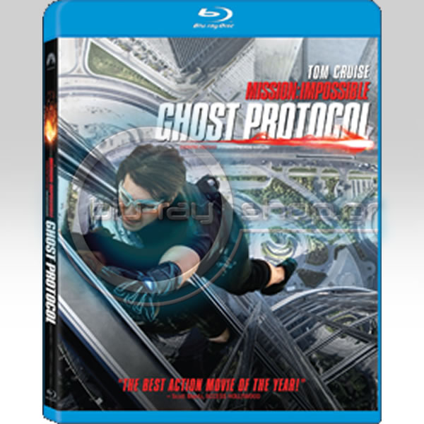 MISSION IMPOSSIBLE 4: GHOST PROTOCOL - ���������� �������� 4: ��������� �������� (BLU-RAY)