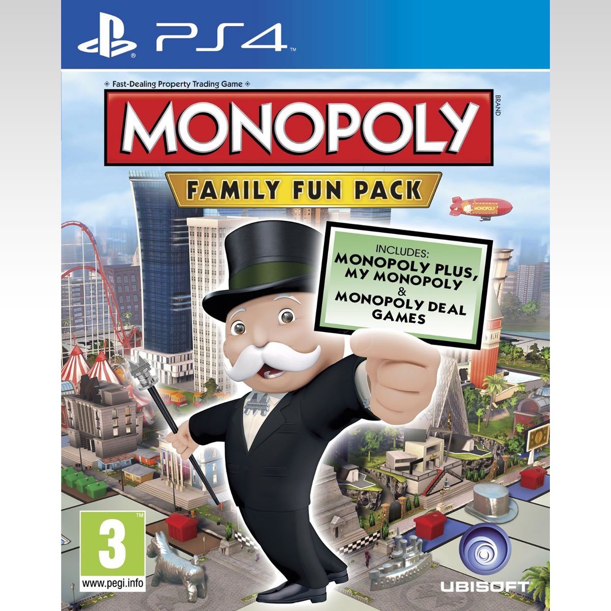 MONOPOLY FAMILY FUN PACK - DELUXE EDITION (PS4)