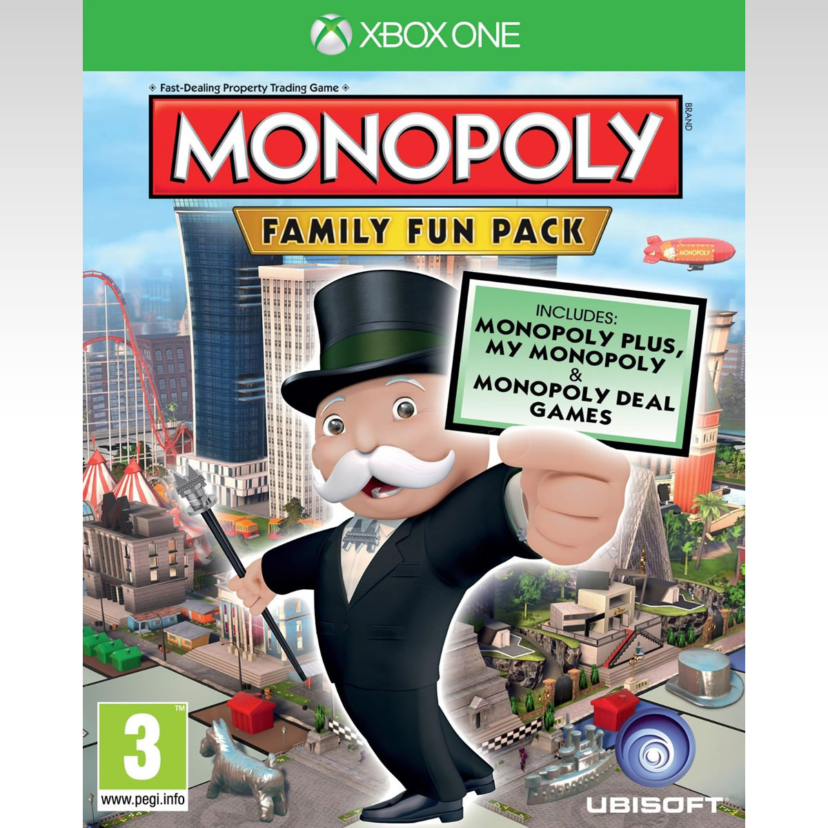 MONOPOLY FAMILY FUN PACK - DELUXE EDITION (XBOX ONE)