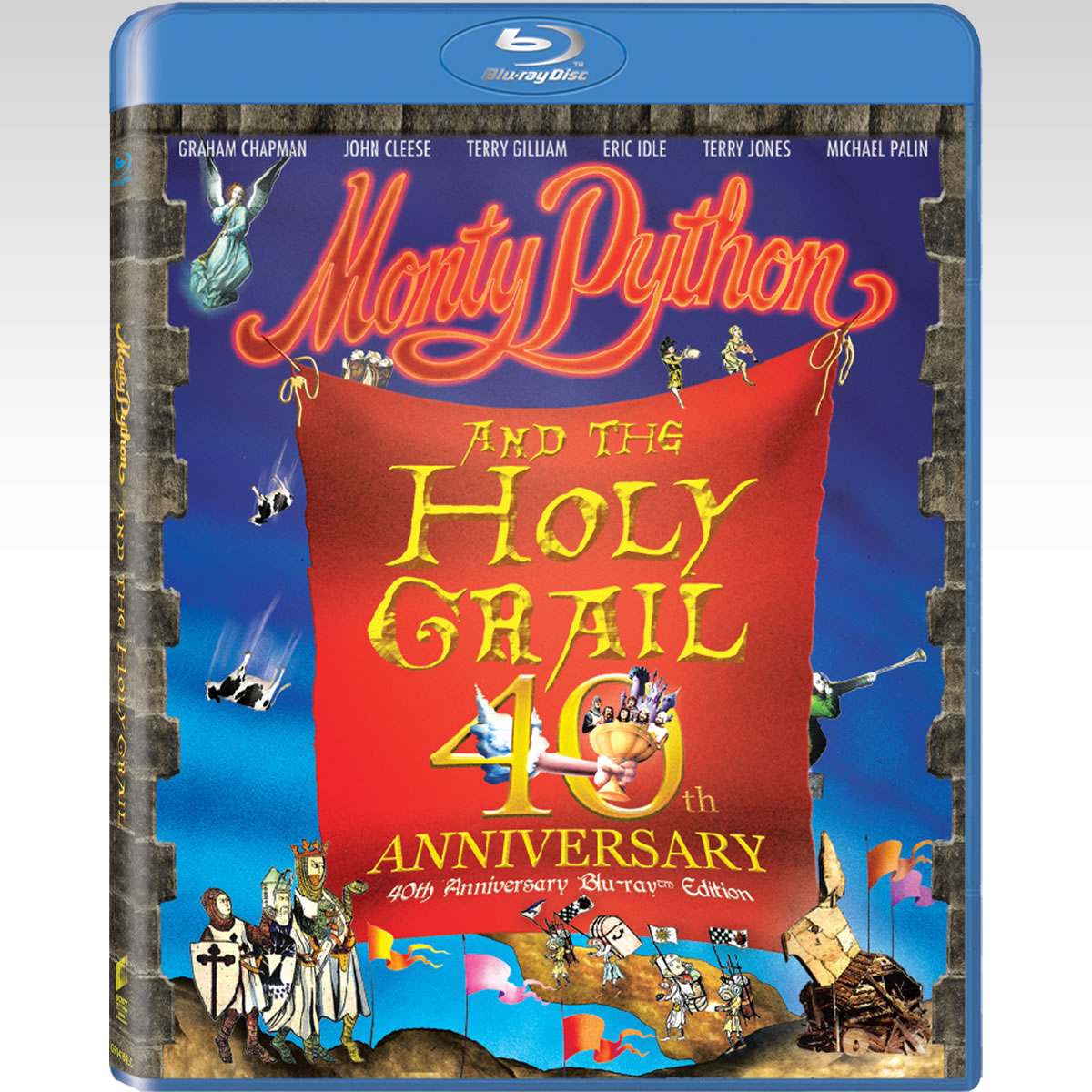 MONTY PYTHON & THE HOLY GRAIL - ΟΙ ΙΠΠΟΤΕΣ ΤΗΣ ΕΛΕΕΙΝΗΣ ΤΡΑΠΕΖΗΣ 40th Anniversary Deluxe Edition (BLU-RAY)