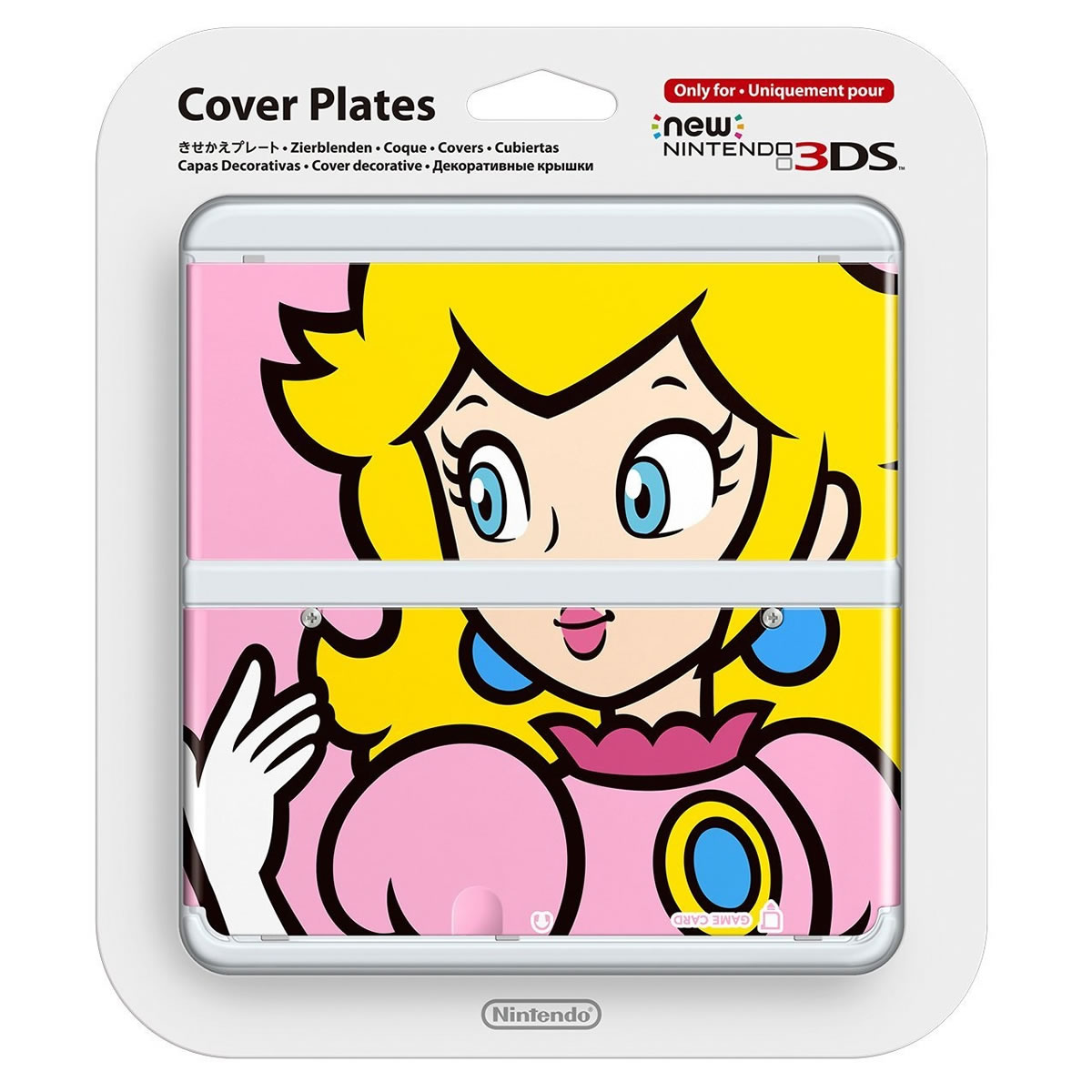 NEW NINTENDO 3DS COVERPLATE 004 Peach (New 3DS)
