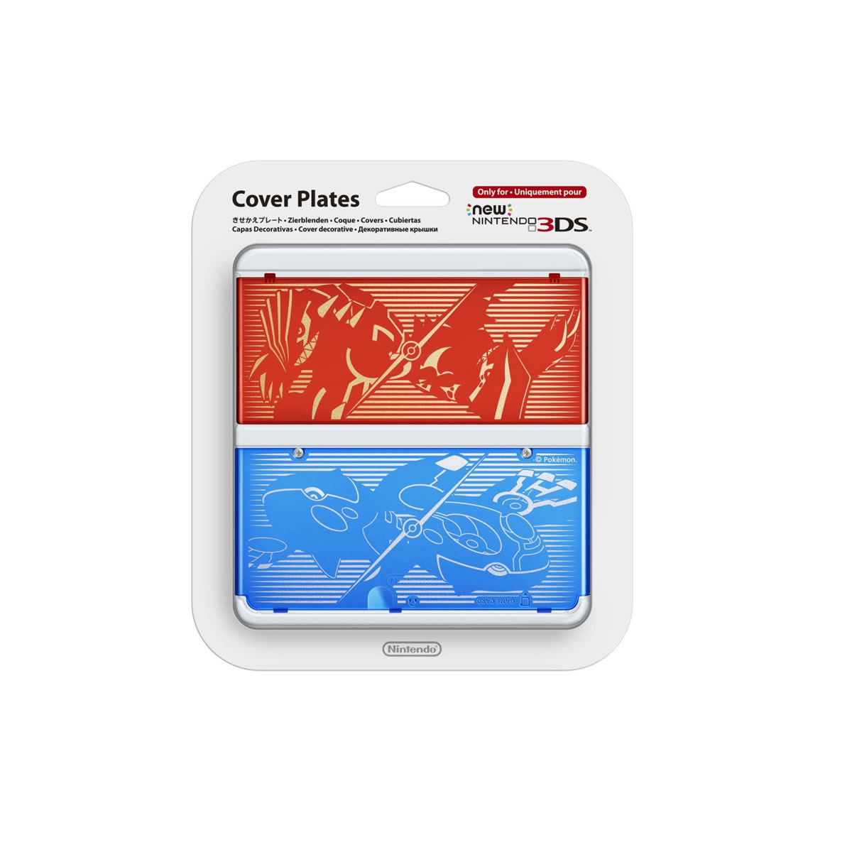 NEW NINTENDO 3DS COVERPLATE 009 Pokemon ORAS (New 3DS)