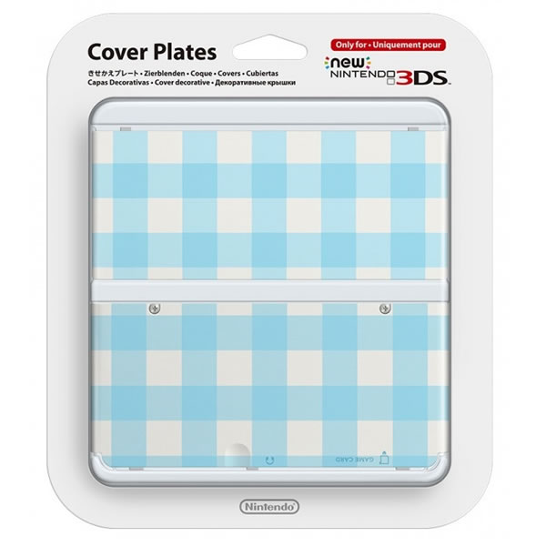 NEW NINTENDO 3DS COVERPLATE 013 Blue Mix (New 3DS)