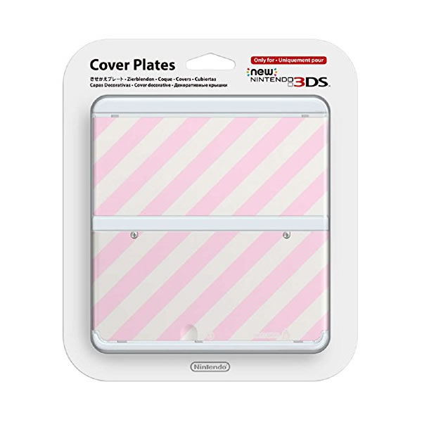 NEW NINTENDO 3DS COVERPLATE 014 Pink Mix (New 3DS)