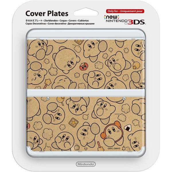 NEW NINTENDO 3DS COVERPLATE 021 Kirby (New 3DS)