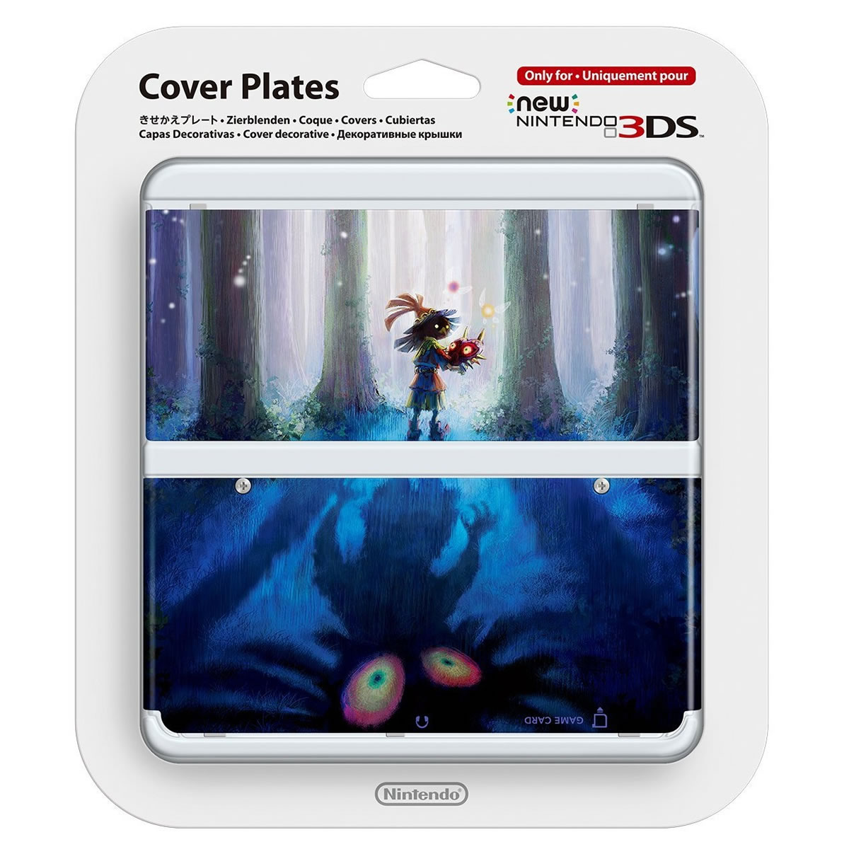 NEW NINTENDO 3DS COVERPLATE 023 Zelda Majora's Mask (New 3DS)