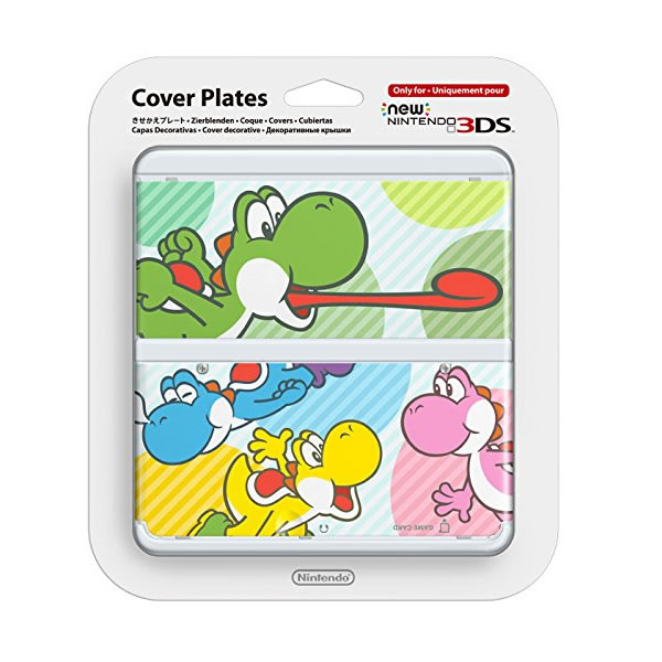 NEW NINTENDO 3DS COVERPLATE 028 Yoshi's Mix (New 3DS)