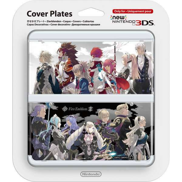 NEW NINTENDO 3DS COVERPLATE 032 Fire Emblem Fates (New 3DS)