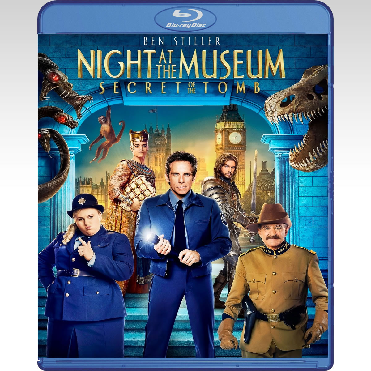 NIGHT AT THE MUSEUM 3: SECRET OF THE TOMB - ��� ����� ��� ������� 3: �� ������� ��� ����� (BLU-RAY)