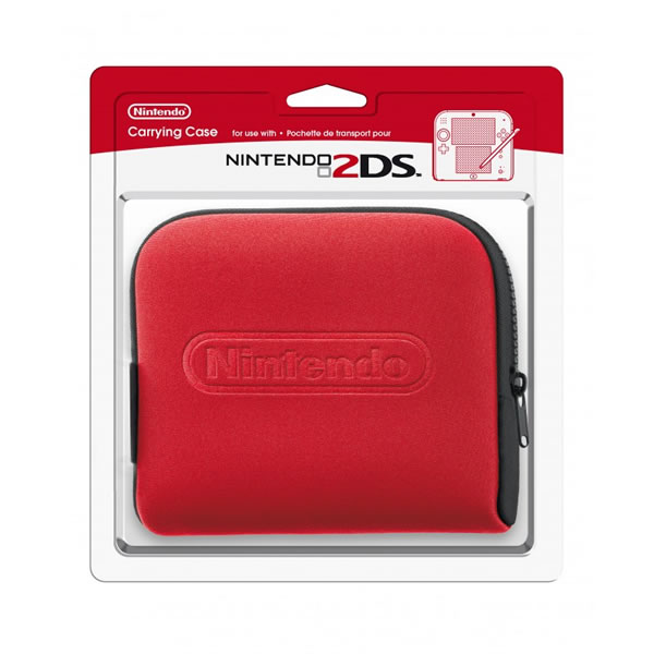 NINTENDO 2DS CARRYING CASE RED - ΘΗΚΗ ΜΕΤΑΦΟΡΑΣ ΚΟΚΚΙΝΟ (DS)