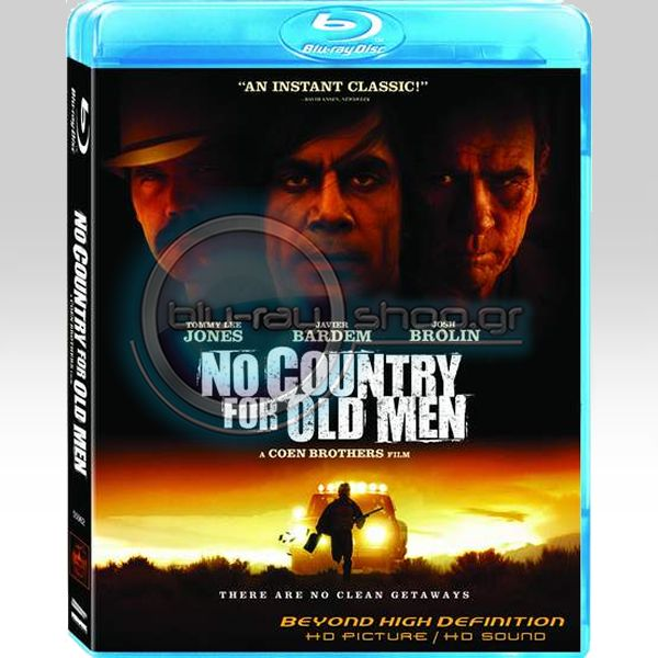 NO COUNTRY FOR OLD MEN - ����� ������� ��� ���� ������������� (BLU-RAY)