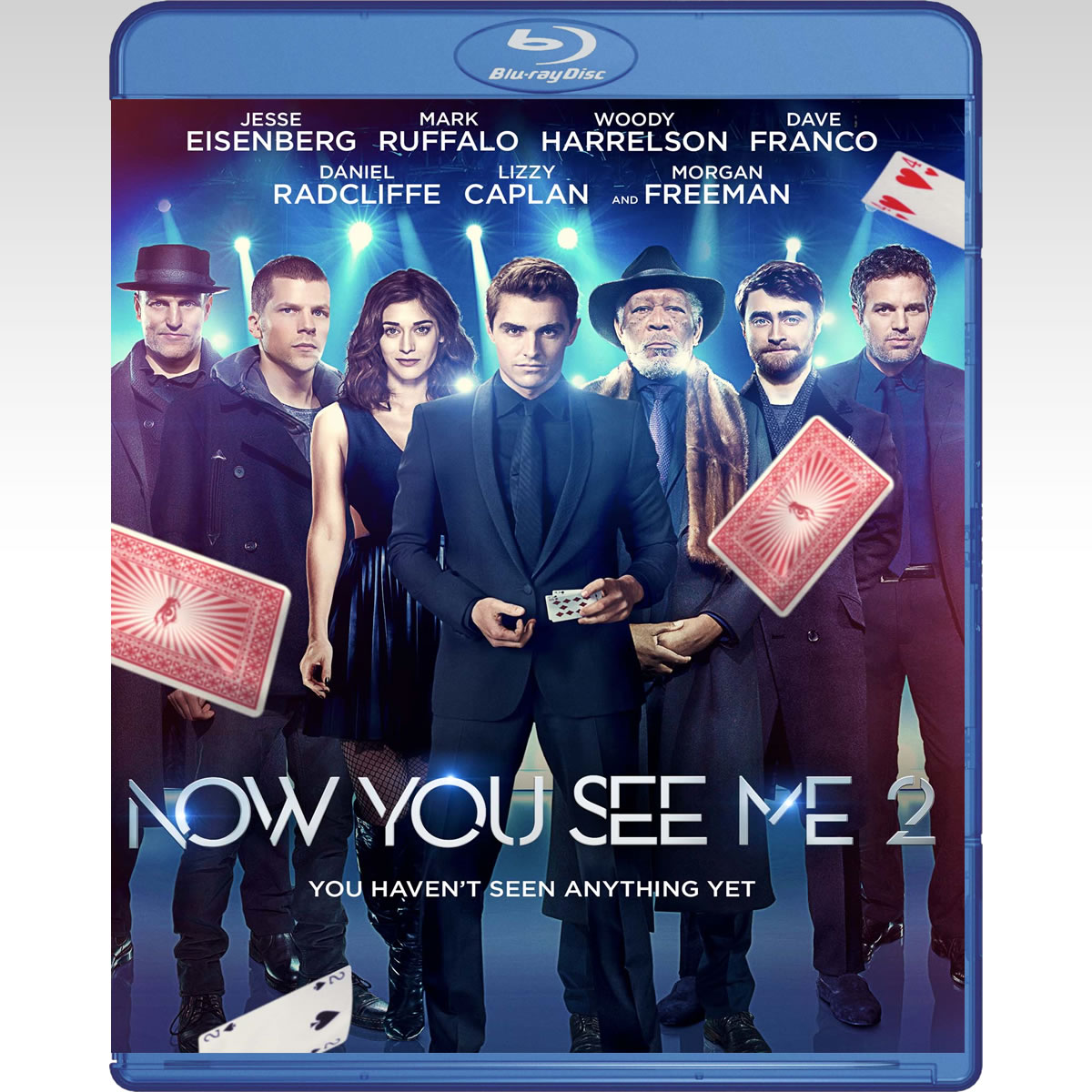 NOW YOU SEE ME 2 - Η ΣΥΜΜΟΡΙΑ ΤΩΝ ΜΑΓΩΝ 2 (BLU-RAY)