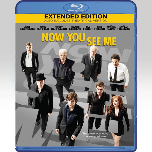 NOW YOU SEE ME Extended - Η ΣΥΜΜΟΡΙΑ ΤΩΝ ΜΑΓΩΝ Extended (BLU-RAY)