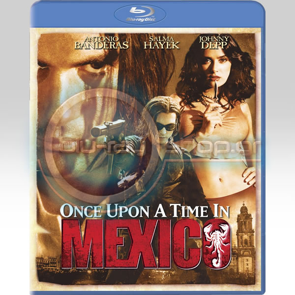 ONCE UPON A TIME IN MEXICO - ΚΑΠΟΤΕ ΣΤΟ ΜΕΞΙΚΟ (BLU-RAY)
