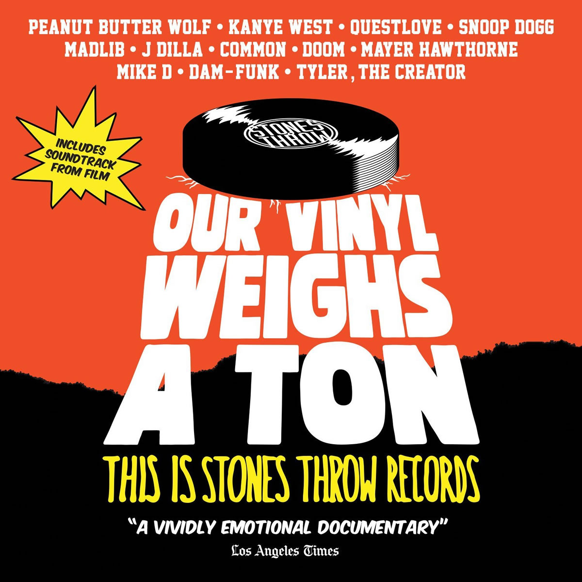 VARIOUS ARTISTS - OUR VINYL WEIGHS A TON : THIS IS STONES THROW RECORDS (BLU-RAY & CD)