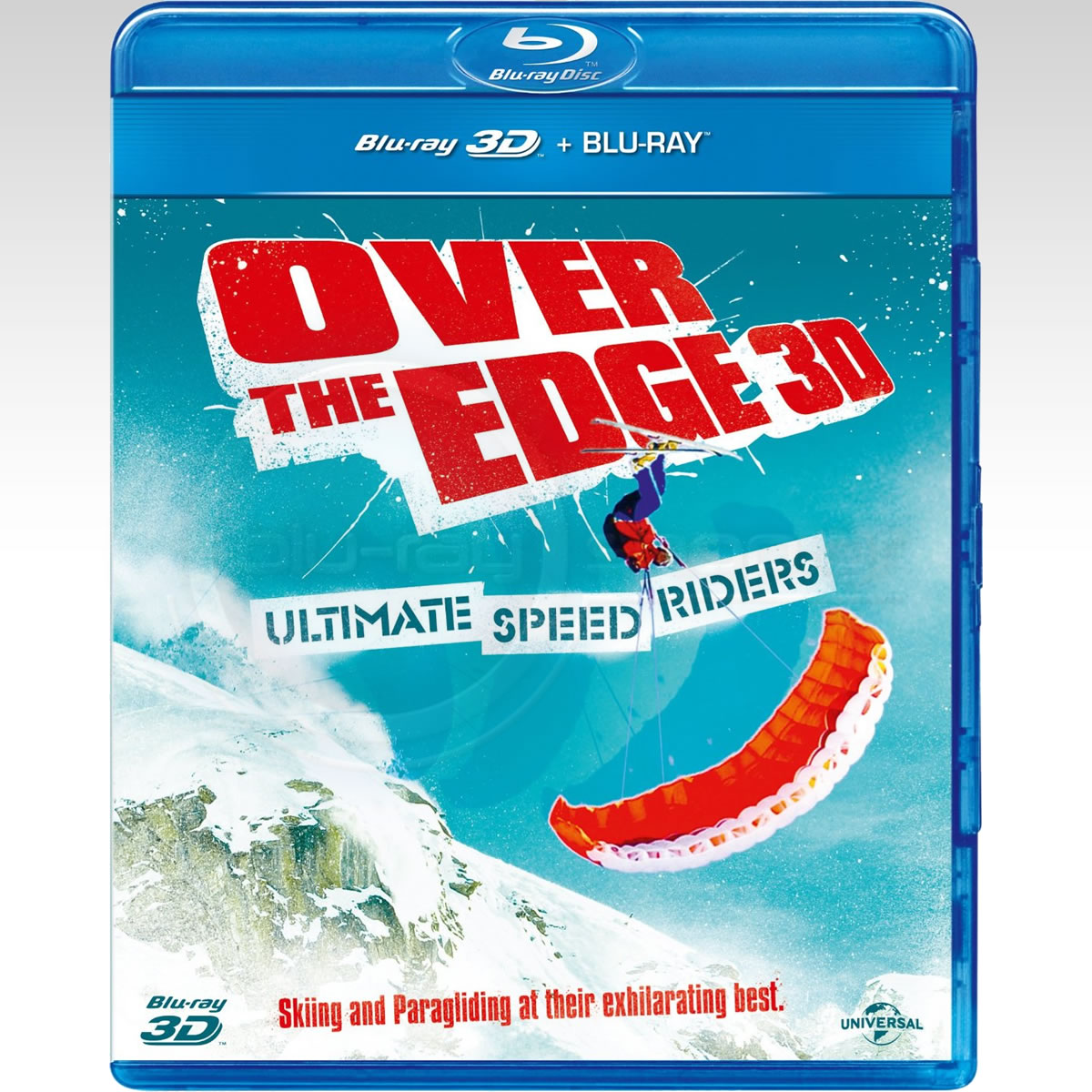 OVER THE EDGE 3D: ULTIMATE SPEED RIDERS (BLU-RAY 3D/2D)
