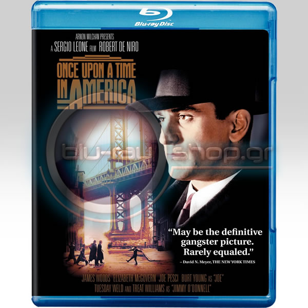ONCE UPON A TIME IN AMERICA - ΚΑΠΟΤΕ ΣΤΗΝ ΑΜΕΡΙΚΗ (BLU-RAY)