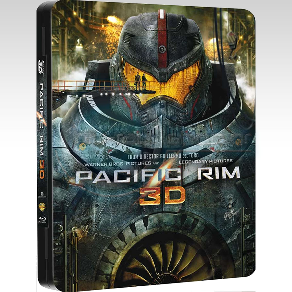 PACIFIC RIM 3D - Limited Collector's Edition FuturePak (BLU-RAY 3D/2D)