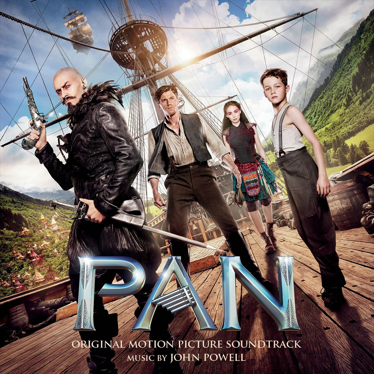 PAN  - THE ORIGINAL MOTION PICTURE SOUNDTRACK (AUDIO CD)