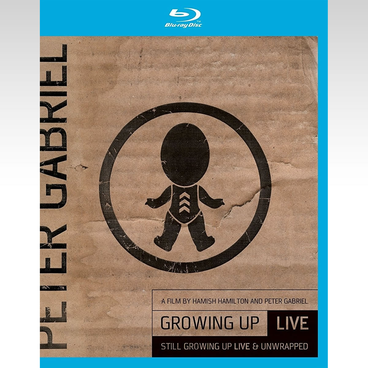 PETER GABRIEL: GROWING UP LIVE AND STILL GROWING UP LIVE AND UNWRAPPED (BLU-RAY + DVD)