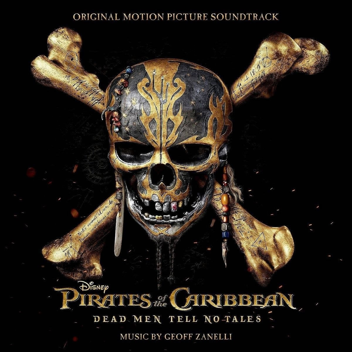 PIRATES OF THE CARIBBEAN: DEAD MEN TELL NO TALES - THE ORIGINAL MOTION PICTURE SOUNDTRACK (AUDIO CD)