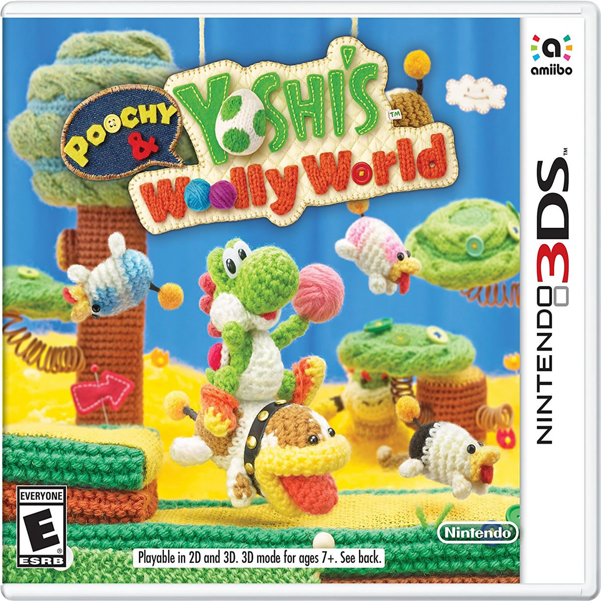 POOCHY & YOSHI'S WOOLY WORLD (3DS)
