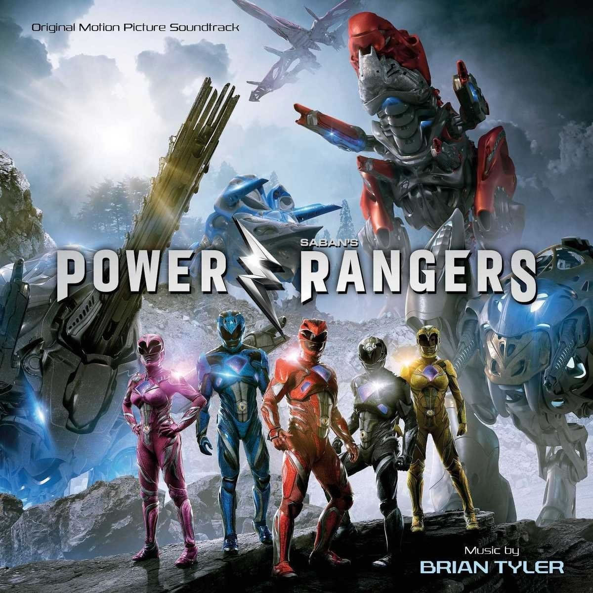 POWER RANGERS - ORIGINAL MOTION PICTURE SOUNDTRACK (AUDIO CD)