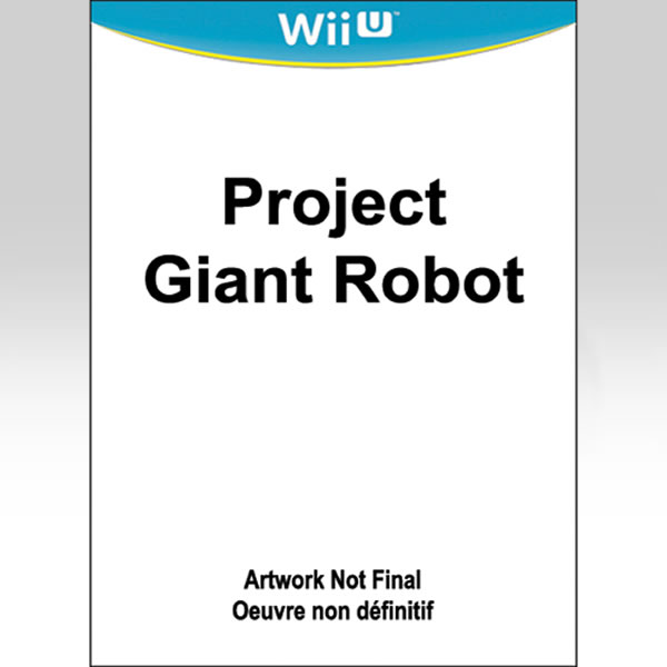PROJECT GIANT ROBOT (Wii U)