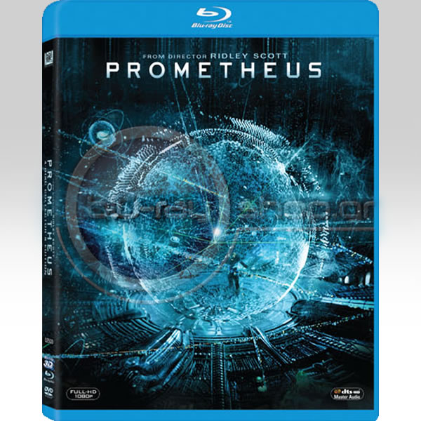 PROMETHEUS 3-Disc Collector's Edition (BLU-RAY 3D + BLU-RAY + DVD)