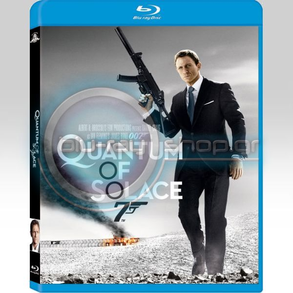 JAMES BOND: QUANTUM OF SOLACE (BLU-RAY)