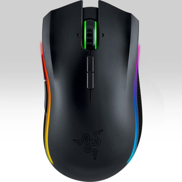 RAZER - MAMBA 16000 WIRELESS ERGONOMIC GAMING MOUSE RZ01-01360100-R3G1 (PC, MAC)