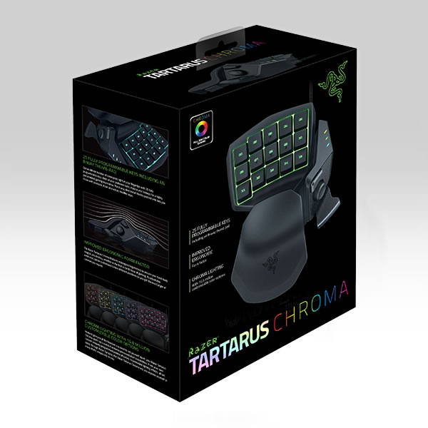 RAZER - TARTARUS CHROMA GAMING KEYPAD RZ07-01510100-R3M1 (PC)