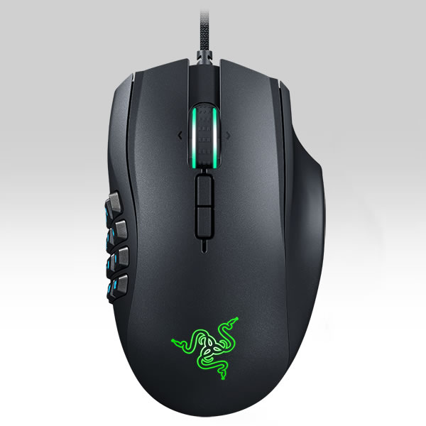 RAZER - NAGA CHROMA EXPERT MMO GAMING MOUSE RIGHT HAND RZ01-01610100-R3G1 (PC)