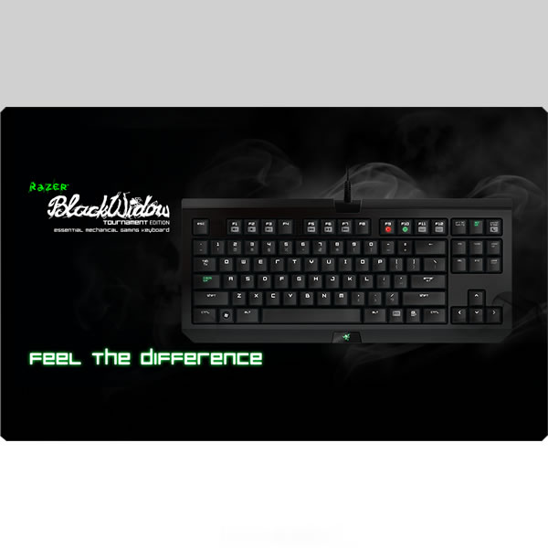 RAZER - BLACKWIDOW TOURNAMENT EDITION 2014 ESSENTIAL MECHANICAL GAMING KEYBOARD [US] RZ03-00810900-R3M1 (PC)