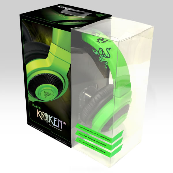 RAZER - KRAKEN PRO ANALOG GAMING HEADSET Green (PC, iOS, ANDROID)
