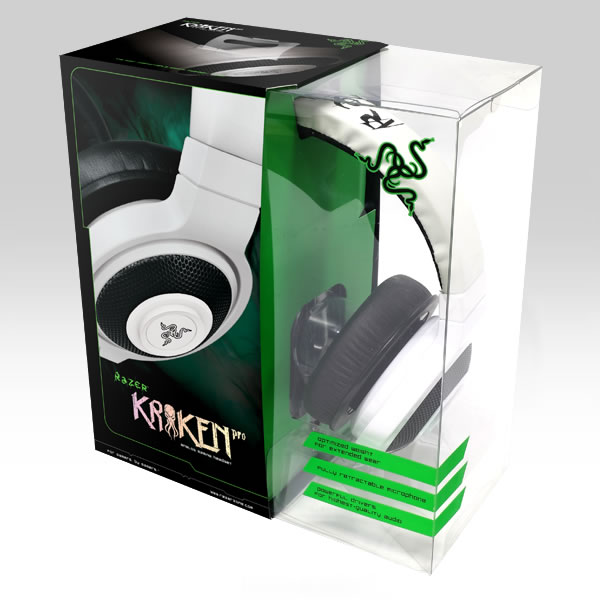 RAZER - KRAKEN PRO ANALOG GAMING HEADSET White (PC, iOS, ANDROID)