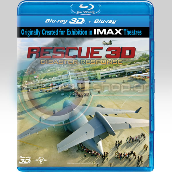 RESCUE 3D (BLU-RAY 3D/2D)