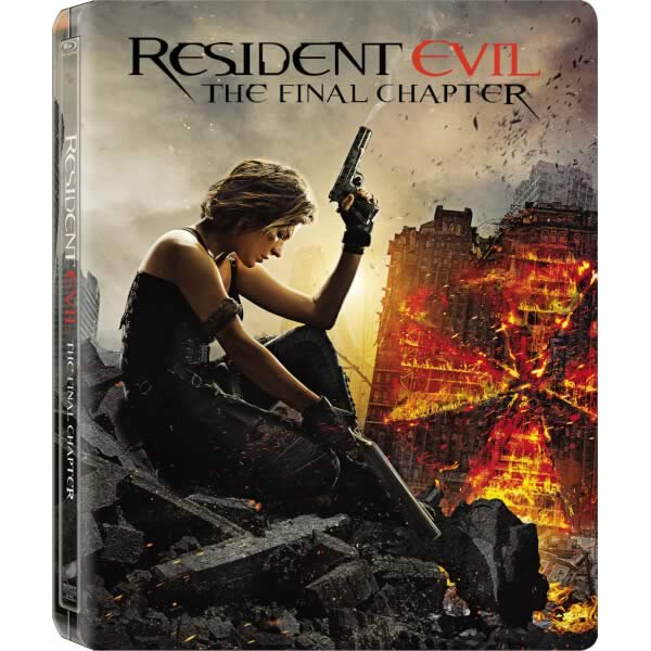 RESIDENT EVIL: THE FINAL CHAPTER 3D Limited Edition Steelbook [Imported] (BLU-RAY 3D + BLU-RAY)